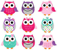 20 Valentine Owls Nail Design Nail Manicure Tip Sticker Decal Decoration