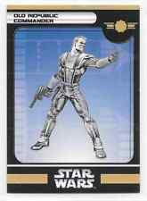 2006 Star Wars Miniatures Old Republic Commander Stat Card Only Swm Mini