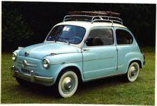 Cartolina Fotografica FIAT 600 Febbraio 1958 - Club FIAT 600 Italia - Non Viaggi
