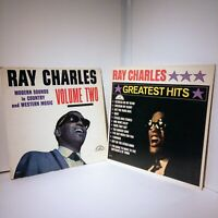 Ray Charles Greatest Hits + Modern Sounds In Country Western Music Vol2 Records