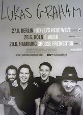 Lukas Graham  2016  😎 Originall Concert  Poster DIN A 1 = 84 x 60 cm