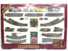 """Fleischmann H0 6370 Startset """"100 Jahre Fleischmann"""" mit Diesellok BR V100 / OVP"""