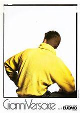 catalogo GIANNI VERSACE 7 collezione uomo autunno-inverno 1984/85 Weber Ferri