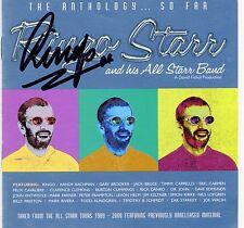 Beatles Ringo Starr Signed The Anthology So Far CD Set Insert