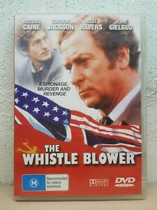 Whistle Blower DVD Michael Caine 1986 - All Regions PAL