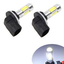 2X 881 6000K White COB LED Fog Lights Driving Bulbs 886 889 894 896 898 H27W/2