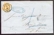 TuTAXIS 1858 HEDWIGSHÜTTE bei LOLLAR als Adresse auf BRIEF(D2793b
