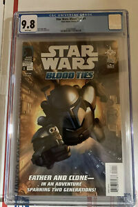 Star Wars: Blood Ties #1 (2010) Dark Horse Jango Fett Cover CGC 9.8