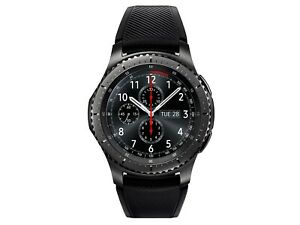 Samsung SM-R765T Gear S3 frontier Unlocked T-Mobile Smart Watch LTE +2 chargers