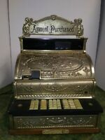 National Cash Register Model 2114-1306-7100 brass