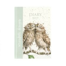 Wrendale Designs 2019 Desk Diary - 154 x 216mm - Hardback Diary by Hannah Dale