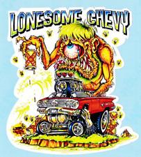 Johnny Ace Vinyle autocollant Decal Chevy Chevrolet Voiture Kustom Kulture Retro ratfink