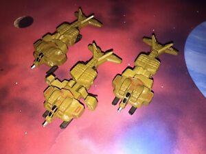 Micro Machines Aliens Lot X3 UD-4L Cheyenne Dropship Colonial Marines Space Ship