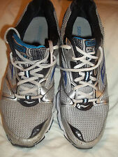 Saucony Grid Stratos 5 Mens Running Shoes Grey Blue Sz 9 Exc 20617 FREE Shipping