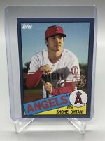 2020 Topps Series 1 SHOHEI OHTANI 1985 35th Anniversary BLUE Los Angeles Angels