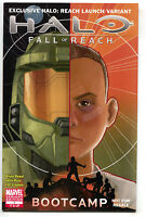 Halo Fall Of Reacjh Boot Camp 1 Marvel NM- Xbox 360 Launch Phil Noto Variant