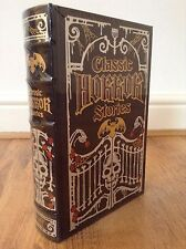 Classic Horror Stories Leather Bound Hardback Book