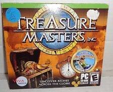 Treasure Masters, Inc Uncover Riches Across the Globe (PC) PC CD-ROM