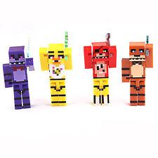 4Pcs/set Model Five Nights At Freddy's Juguetes FNAF Action Figures Gifts NEW