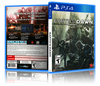Earth's Dawn - Replacement PS4 Cover and Case. NO GAME!!