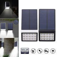 15 LED Solar Powered Motion Sensor Wall Light Outdoor Garden Fence Path Lamp