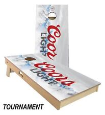 Slick Woody's Coors Light Cornhole Board Game Set - High Quality Made in USA!!