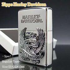 ZIPPO / HARLEY-DAVIDSON Cigarette Oil Lighter....... LIMITED EDITION HDP-08