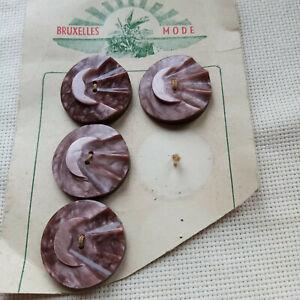 boutons anciens  de 3,4 cm