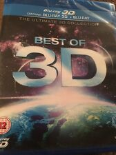 Best Of 3D (Blu Ray Region Free) Factory Sealed FAST SHIPPING
