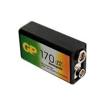 9V 8.4V 170mAh NiMH Rechargeable Battery Smoke Detectors CLEARANCE