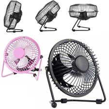 "USB FAN - Metal 6'' 4"" PORTABLE COOLING DESK QUIET FAN FOR COMPUTER LAPTOP PC"