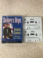 Bernard Cornwell Sharpe's Devil 2 Tape Audio Book Cassette Sean Bean