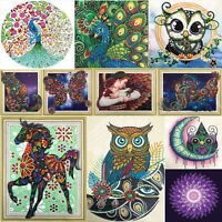 5D DIY Special-shaped Diamond Painting Cat Cross Stitch Embroidery Wall Decor