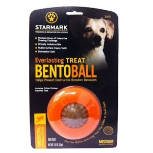 Starmark Everlasting Bento Ball Dog Toy | Dogs