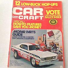Car Craft Magazine Mopar Parts Guide April 1975 NO ML 070517nonrh