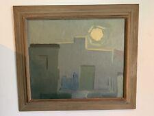 """Nightime"" Painting by Carl Lindberg"
