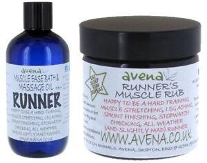 Runners Running Muscle Rub Bath Massage Oil Xmas Novelty Gift Stocking Filler