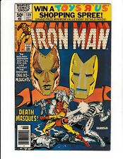 IRON MAN #139 (FN) SPY-MASTER & MADAME MASQUE Appearance! Marvel Comic 1980