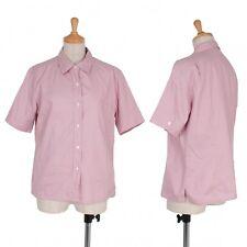MARGARET HOWELL short sleeved shirt Size 3(K-34464)