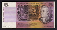 Australia R-203.  (1969) Five Dollars -  Phillips/Randall..  gVF - Crisp