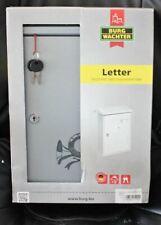 3 Stk. Burg-Wächter Briefkasten Letter 5832 silber verzinkt
