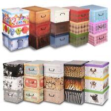 Contenitori e scatole sottoletto in cartone per la casa