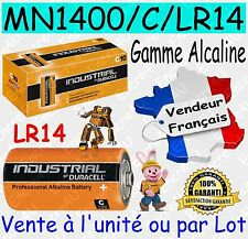 Piles DURACELL TYPE LR14 C - Dispo aussi : CR2016 CR2025 CR2032 CR2430 CR2450