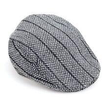 Winter Warm Herringbone Pattern Newsboy Ivy Hat (H9412)