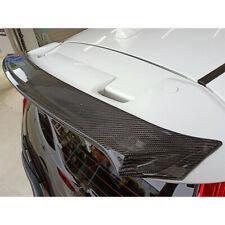 Carbon For HONDA FIT 3 Jazz Hatchback Gurney Flap Rear RS Trunk Spoiler 2019