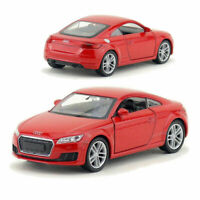Audi TT Coupe 1:36 Scale Model Car Metal Diecast Toy Vehicle Collection Gift Red