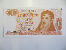 Argentina Banknote 1 Peso P.287 Unc (19706-73)