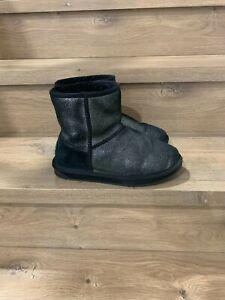 EMU Stinger Metallic Womens sheepskin water resistant winter boots uggs