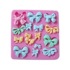 Cute Bows Silicone Mold Mould For Fimo Resin Polymer Clay Sugarcraft Fondant