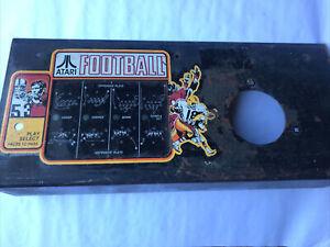 atari football arcade control panel With 1979 Partial Harness